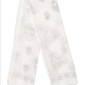 NWT Alexander McQueen Silk Scarf